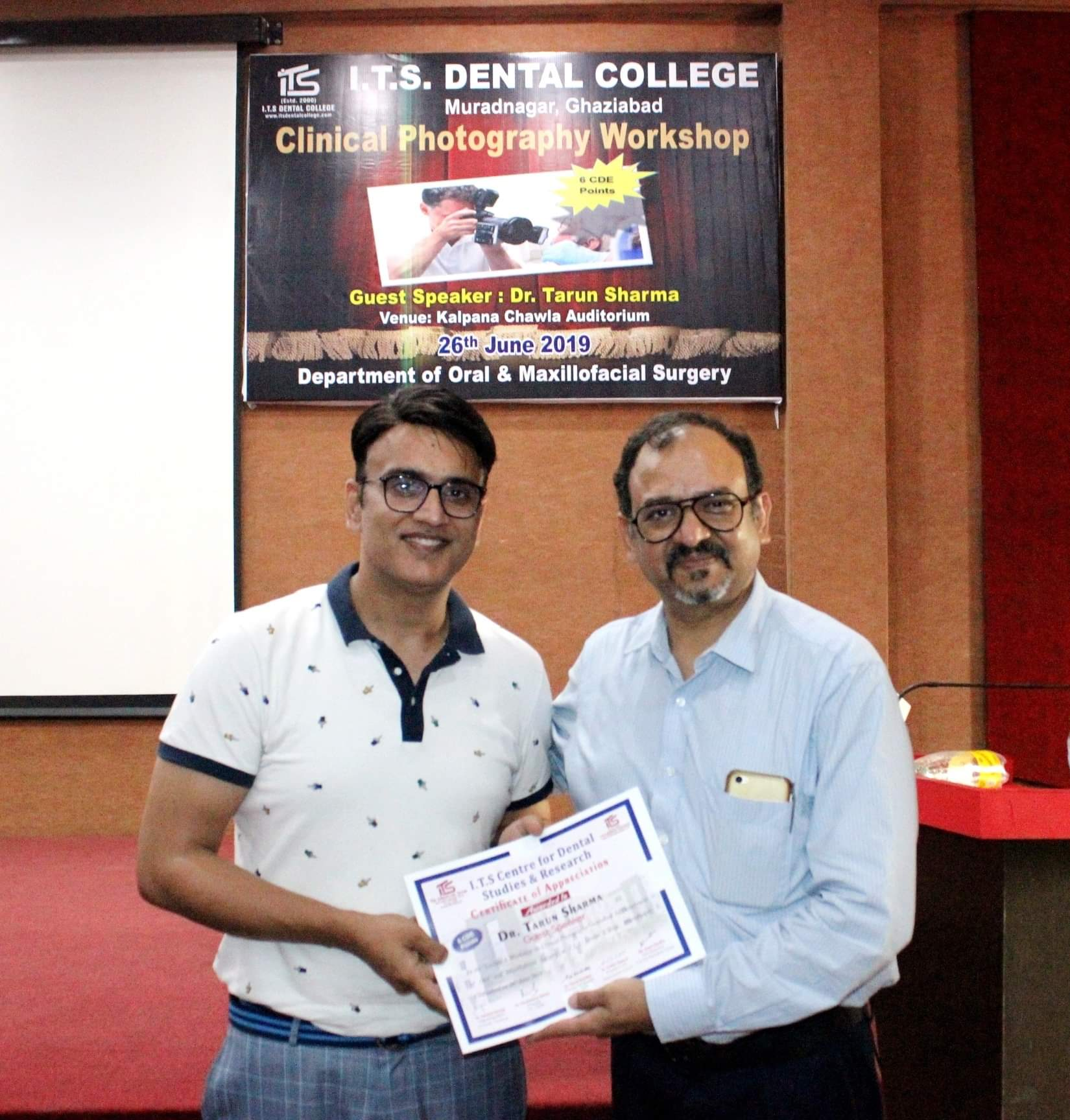 CONFERENCES & CDE'S Gallery | I T S Dental College